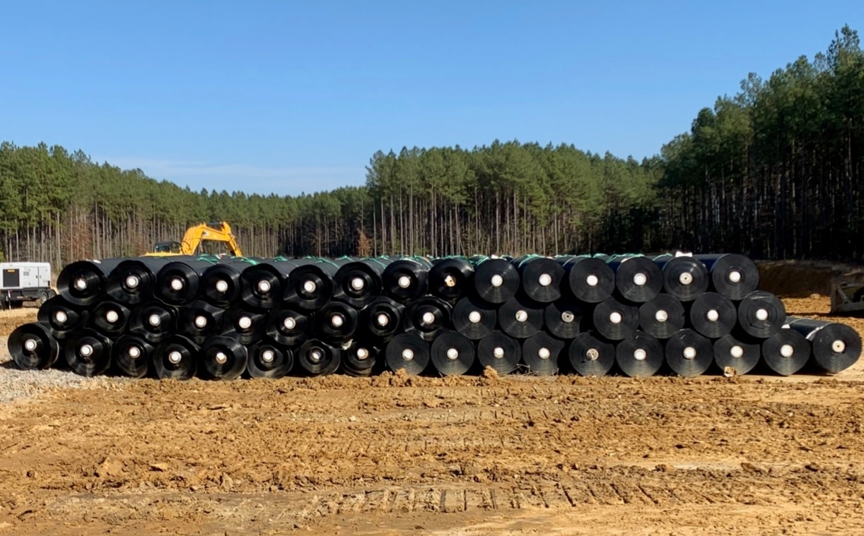 Material Storage of Geosynthetics
